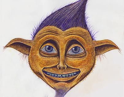 Faerie Wood Game elf character