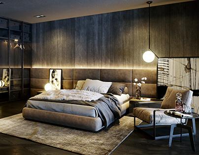 Bedroom Floor 02 - Skyvilla-vinhomes-metropolis