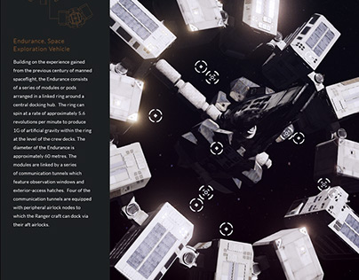 Interstellar - Endurance WebGL Experience