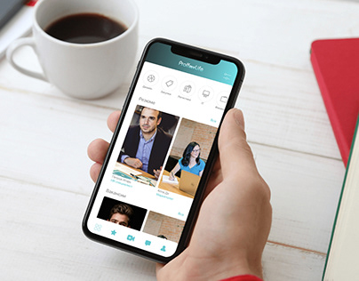ProffmyLife - mobile app for finding a job