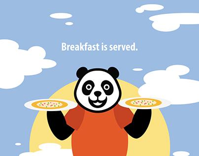 Food Panda Poster Design