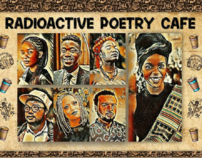 Radioactive Poetry Cafe poster