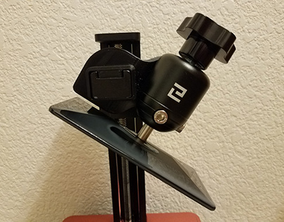 Build-Plate/Platform Angled Holder for Elegoo Mars
