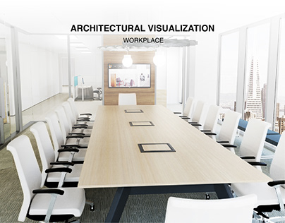 Photo Quality Rendering - Workplace
