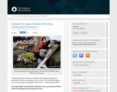 The Gideons International Blog