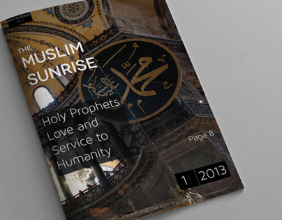 Muslim Sunrise Redesign