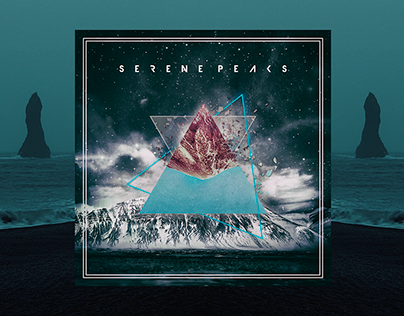 Serene Peaks (video, cover art, music)