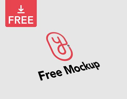 Minimal Logo Mockup - Freebie