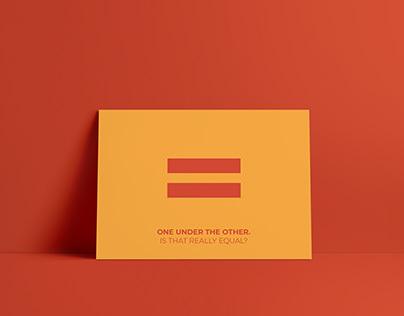 Feminism- We The Women, Asia Poster Design Winner