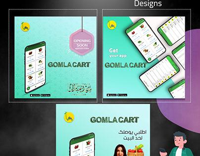 app designs & social