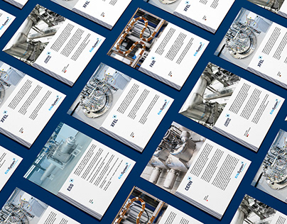 Visual identity refresh for cryogenic company