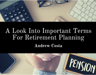 Important Terms For Retirement Planning