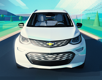 Chevy Bolt: Style Frames + Storyboards
