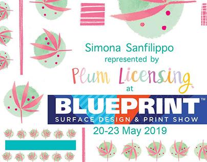 BLUEPRINT 2019 - surface design & print show -