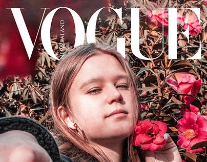 Vogue Magazine Cover Imitation