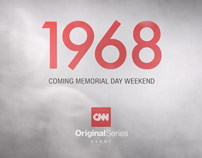 CNN 1968 Series Promos