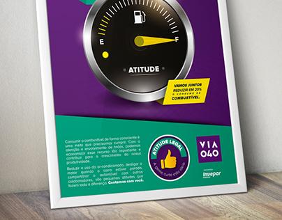 Campanha economia de combustível - VIA 040