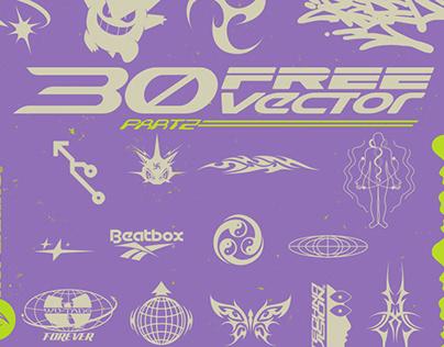 30 FREE VECTOR
