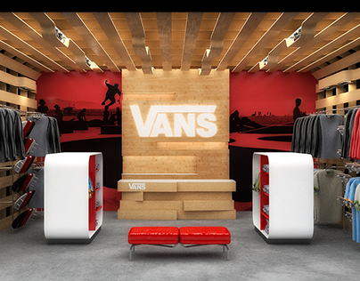 Vans Conceptual Pop-Up Store