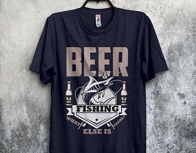Fishing T-Shirt Design - 5