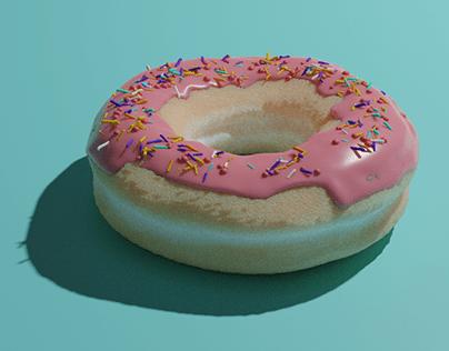 3D Donut.