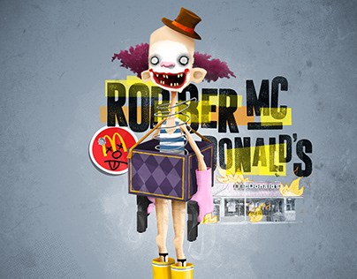 Robber Mcdonald's