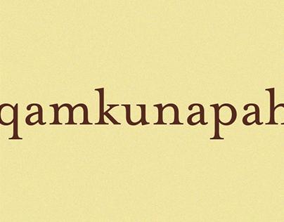 Qamkunapah Lookbook