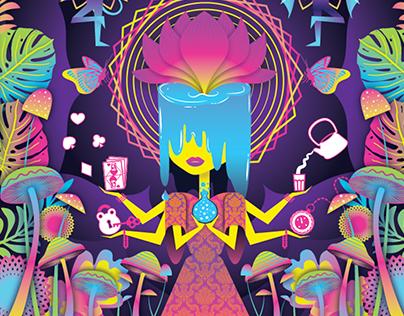 Illustration for ELLE India