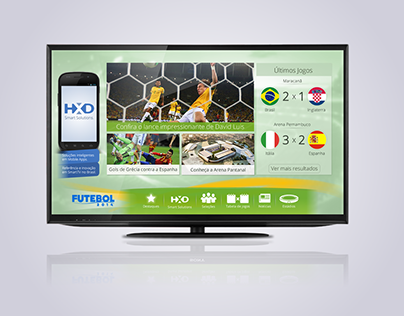 Football App for Smart TV (2014)