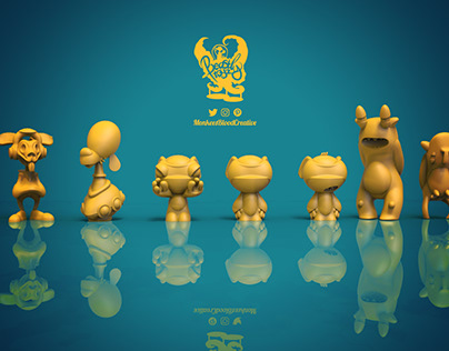 _BLANK ArtToy Concepts By MBC & Beastly Toyz