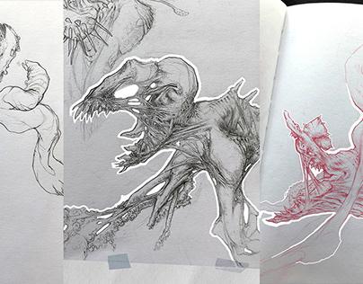Drawing Sessions I, II & III