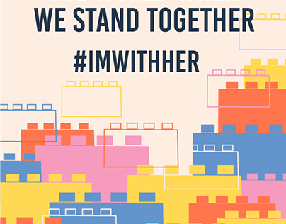 Lego Rebuild the World #ImWithHer Campaign