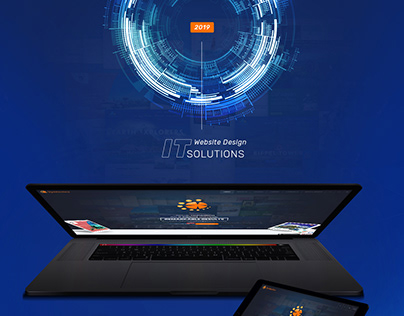 IT Solutions Web Design UI/UX