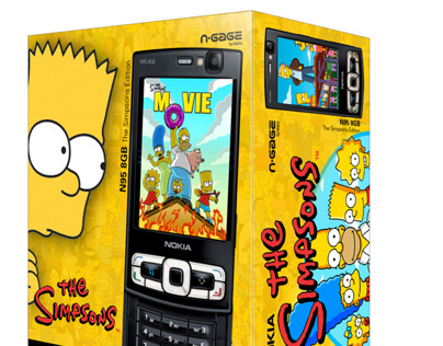 Nokia Promotional Box Simpsons - Packaging Design