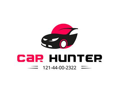 Car Hunter | Car and automobile logo design