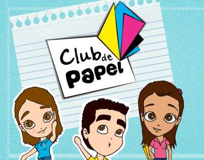 """Piloto para televisión """"Club de Papel"""""""