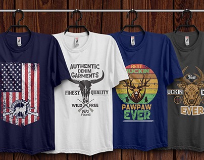 Hunting T-Shirt Design Bundle