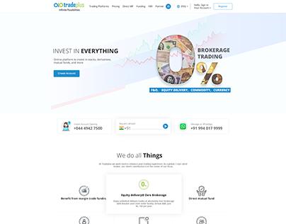Investment Company UI Design