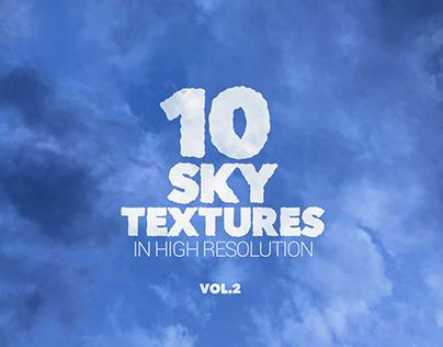 Sky Textures x10 vol2