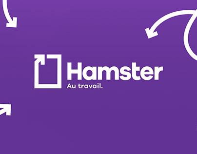 Hamster - Au travail.