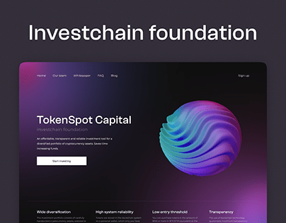 TokenSpot Capital — Crypto Invest Foundation
