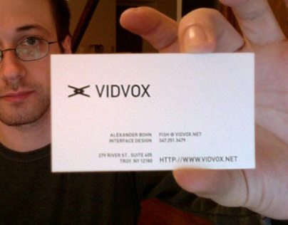 VIDVOX – Identity & UI Style Guide