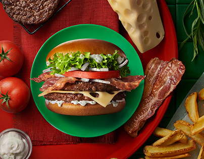 McDonald's Maestro Burgers