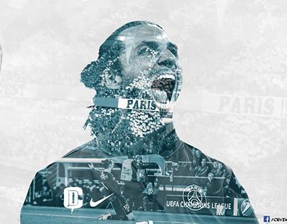Zlatan Ibrahimovic - Double Exposure First Sample
