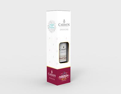 Packaging Carmen wine