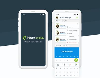 Platzi Collab UI Design Challenge