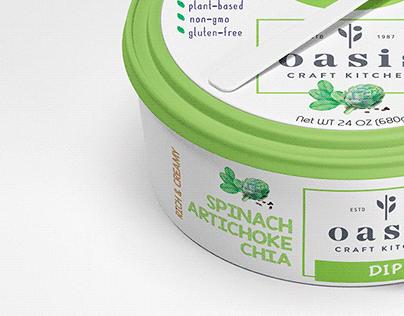Oasis Craft Kitchen - Label Design