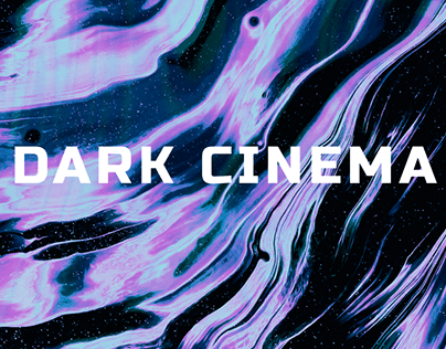 Poster for the serie of events DARK CINEMA