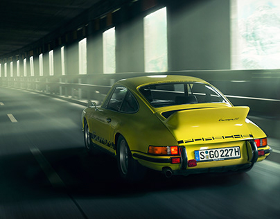 Porsche Carrera RS Retouching Project