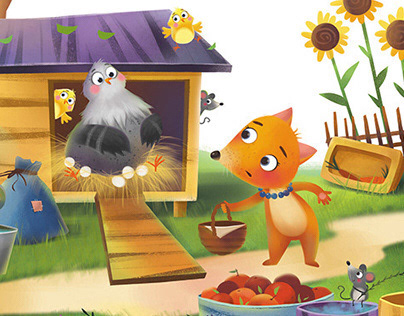 The Fox`s Tail.For Storytime Magazine - Issue 59